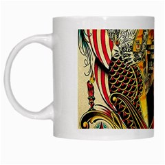 Hail Fine Art Print White Mugs