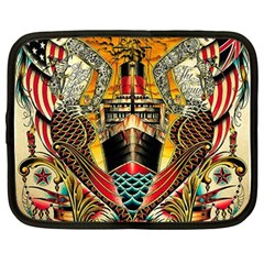 Hail Fine Art Print Netbook Case (large) by Sapixe