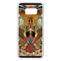 Hail Fine Art Print Samsung Galaxy S8 Plus White Seamless Case by Sapixe