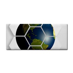 Hexagon Diamond Earth Globe Cosmetic Storage Cases by Sapixe