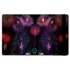 Happy New Year New Years Eve Fireworks In Australia Apple Ipad 3/4 Flip Case by Sapixe