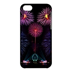 Happy New Year New Years Eve Fireworks In Australia Apple Iphone 5c Hardshell Case by Sapixe