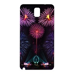 Happy New Year New Years Eve Fireworks In Australia Samsung Galaxy Note 3 N9005 Hardshell Back Case by Sapixe