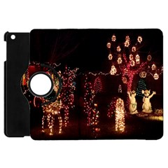 Holiday Lights Christmas Yard Decorations Apple Ipad Mini Flip 360 Case