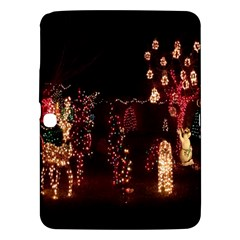 Holiday Lights Christmas Yard Decorations Samsung Galaxy Tab 3 (10 1 ) P5200 Hardshell Case
