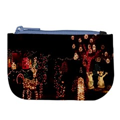 Holiday Lights Christmas Yard Decorations Large Coin Purse
