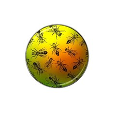 Insect Pattern Hat Clip Ball Marker (4 Pack)