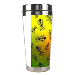 Insect Pattern Stainless Steel Travel Tumblers by Sapixe