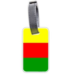 Kurdistan Kurd Kurds Kurdish Flag Luggage Tags (one Side)
