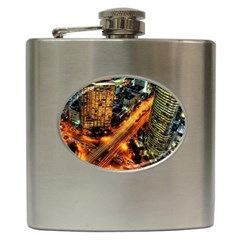 Hdri City Hip Flask (6 Oz)