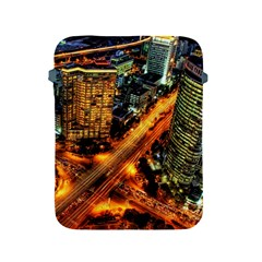 Hdri City Apple Ipad 2/3/4 Protective Soft Cases by Sapixe