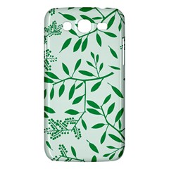 Leaves Foliage Green Wallpaper Samsung Galaxy Mega 5 8 I9152 Hardshell Case  by Sapixe