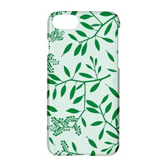 Leaves Foliage Green Wallpaper Apple Iphone 7 Hardshell Case by Sapixe