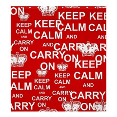 Keep Calm And Carry On Shower Curtain 66  X 72  (large)  by Sapixe