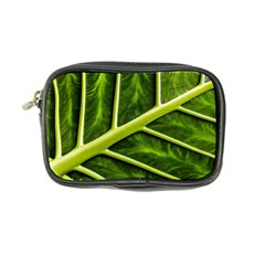 Leaf Dark Green Coin Purse