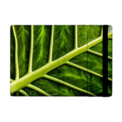 Leaf Dark Green Apple Ipad Mini Flip Case by Sapixe