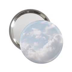 Light Nature Sky Sunny Clouds 2 25  Handbag Mirrors by Sapixe