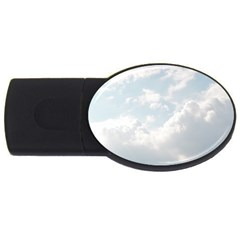 Light Nature Sky Sunny Clouds Usb Flash Drive Oval (2 Gb) by Sapixe