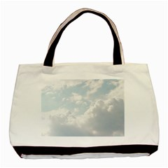 Light Nature Sky Sunny Clouds Basic Tote Bag (two Sides)
