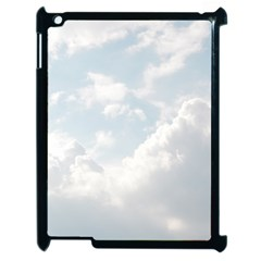 Light Nature Sky Sunny Clouds Apple Ipad 2 Case (black) by Sapixe