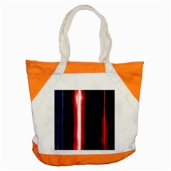 Lights Pattern Accent Tote Bag