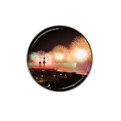 Kuwait Liberation Day National Day Fireworks Hat Clip Ball Marker (4 Pack)