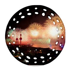 Kuwait Liberation Day National Day Fireworks Ornament (round Filigree)