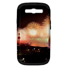 Kuwait Liberation Day National Day Fireworks Samsung Galaxy S Iii Hardshell Case (pc+silicone)