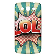Lol Comic Speech Bubble  Vector Illustration Samsung Galaxy Mega 5 8 I9152 Hardshell Case  by Sapixe