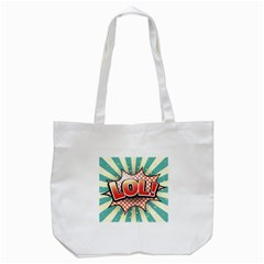 Lol Comic Speech Bubble  Vector Illustration Tote Bag (white)