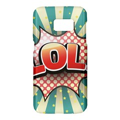 Lol Comic Speech Bubble  Vector Illustration Samsung Galaxy S7 Hardshell Case  by Sapixe