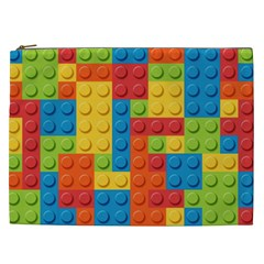 Lego Bricks Pattern Cosmetic Bag (xxl)
