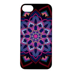 Mandala Circular Pattern Apple Iphone 5s/ Se Hardshell Case by Sapixe