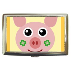 Luck Lucky Pig Pig Lucky Charm Cigarette Money Cases by Sapixe
