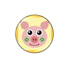 Luck Lucky Pig Pig Lucky Charm Hat Clip Ball Marker by Sapixe