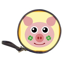 Luck Lucky Pig Pig Lucky Charm Classic 20-cd Wallets by Sapixe