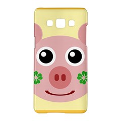 Luck Lucky Pig Pig Lucky Charm Samsung Galaxy A5 Hardshell Case  by Sapixe