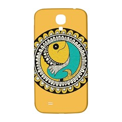 Madhubani Fish Indian Ethnic Pattern Samsung Galaxy S4 I9500/i9505  Hardshell Back Case by Sapixe