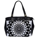 Mandala Geometric Symbol Pattern Office Handbags Front