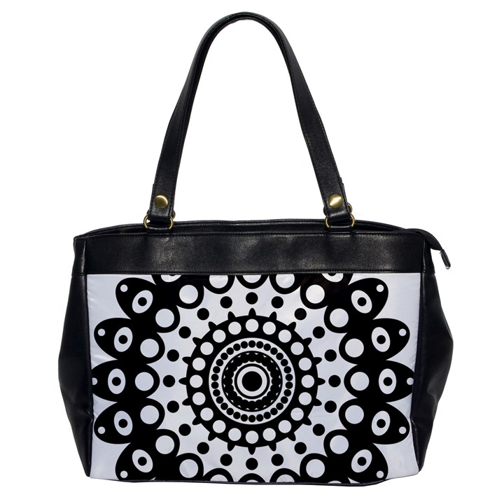 Mandala Geometric Symbol Pattern Office Handbags