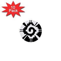 Maya Calendar Native American Religion 1  Mini Buttons (10 Pack)