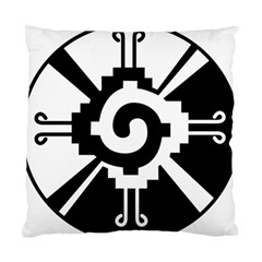 Maya Calendar Native American Religion Standard Cushion Case (two Sides) by Sapixe