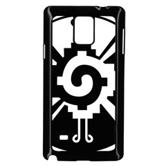 Maya Calendar Native American Religion Samsung Galaxy Note 4 Case (black) by Sapixe