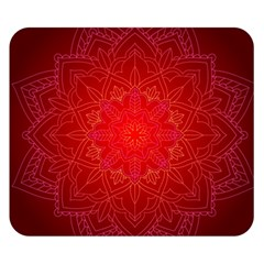 Mandala Ornament Floral Pattern Double Sided Flano Blanket (small)