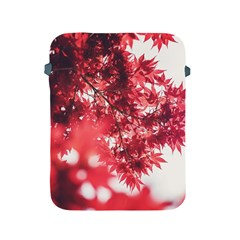 Maple Leaves Red Autumn Fall Apple Ipad 2/3/4 Protective Soft Cases by Sapixe