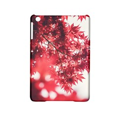 Maple Leaves Red Autumn Fall Ipad Mini 2 Hardshell Cases by Sapixe