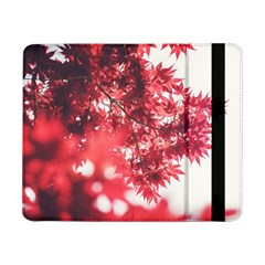 Maple Leaves Red Autumn Fall Samsung Galaxy Tab Pro 8 4  Flip Case