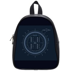 Minimalistic Knowledge Mathematics Trigonometry School Bag (small)