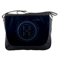 Minimalistic Knowledge Mathematics Trigonometry Messenger Bags by Sapixe