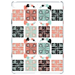 Mint Black Coral Heart Paisley Apple Ipad Pro 12 9   Hardshell Case by Sapixe